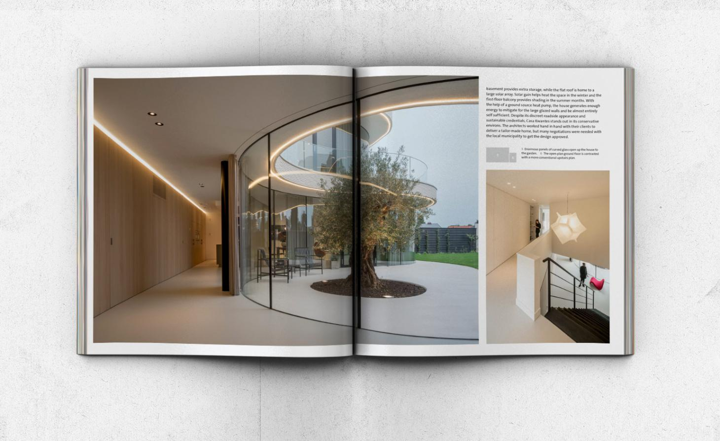 Contemporary House spread Thames and Hudson