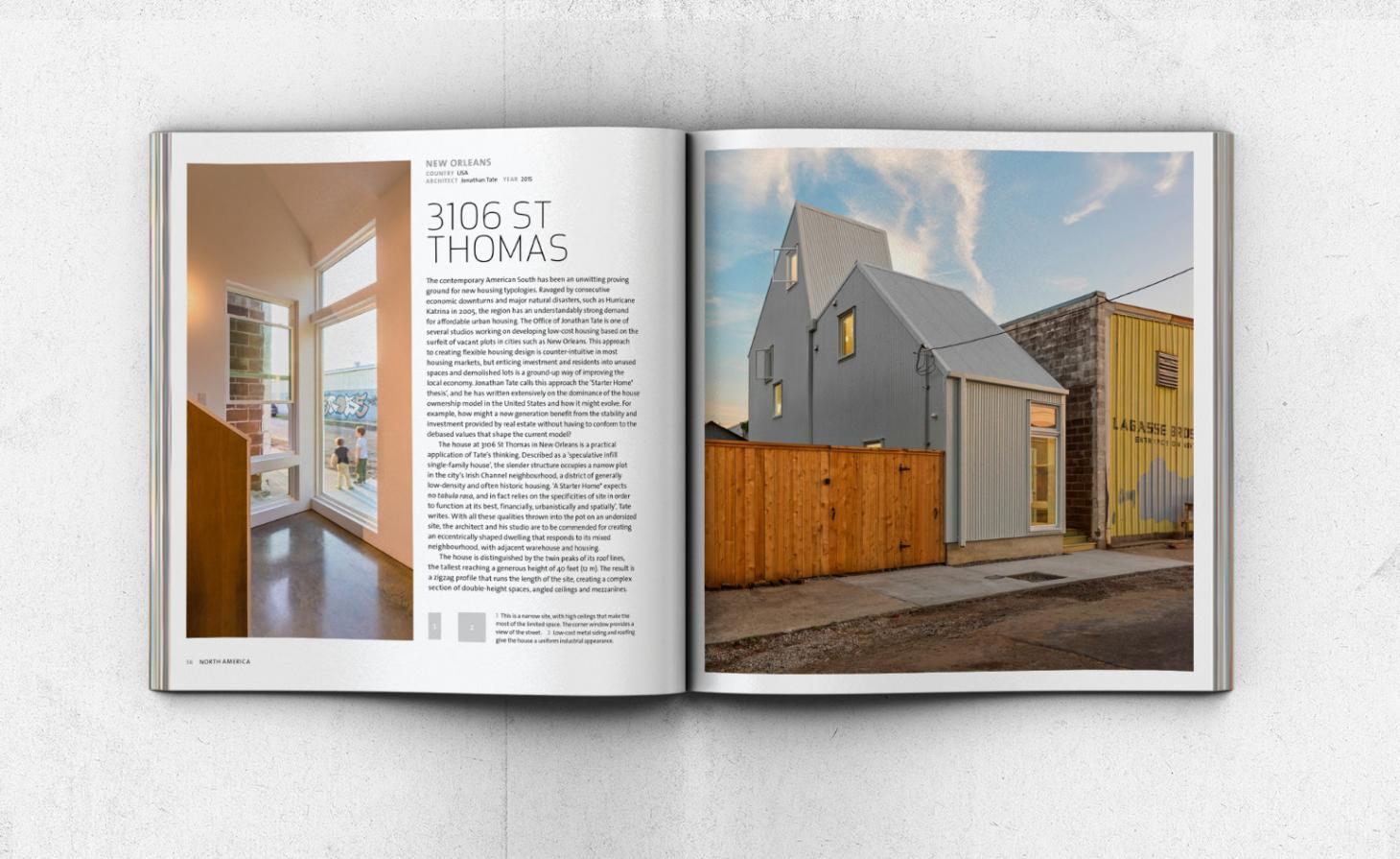 Spread from Contemporary House book Thames and Hudson