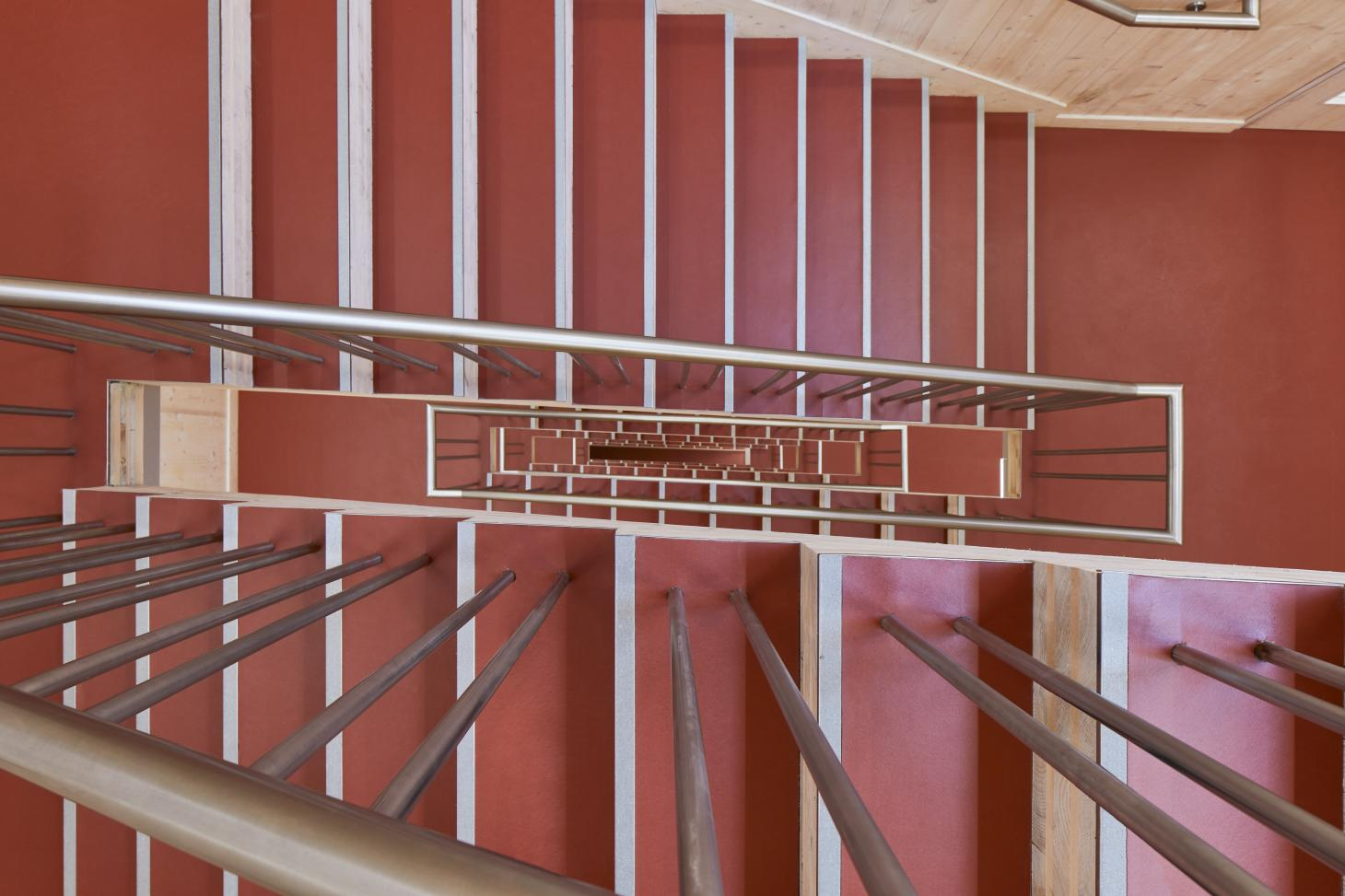 Waugh Thistleton storey office staircase