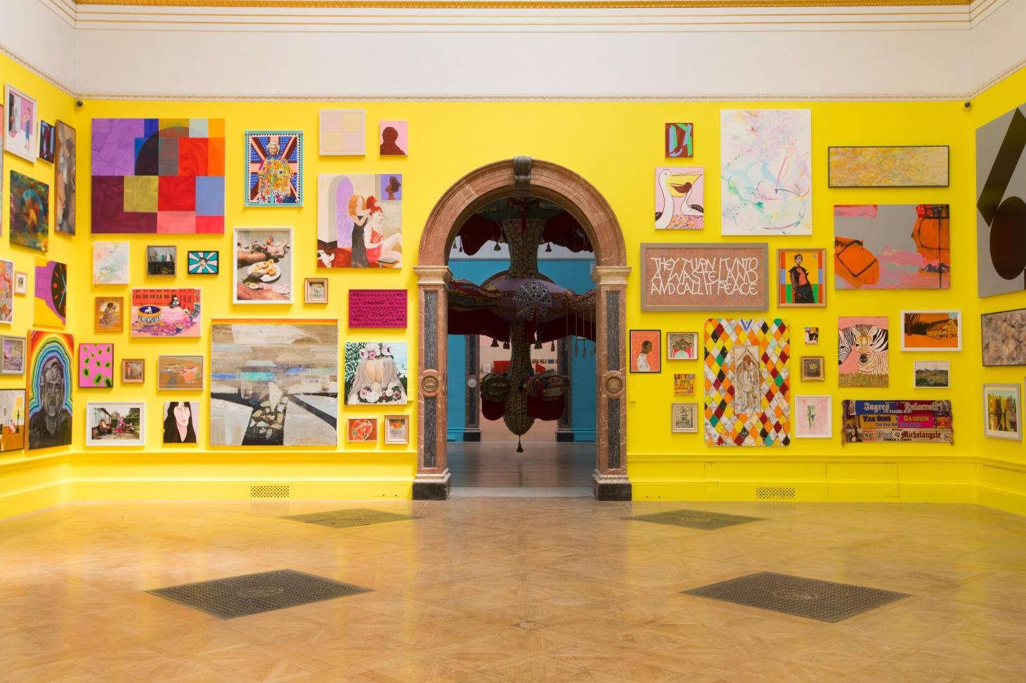 the summer exhibition at Royal Academy of Arts