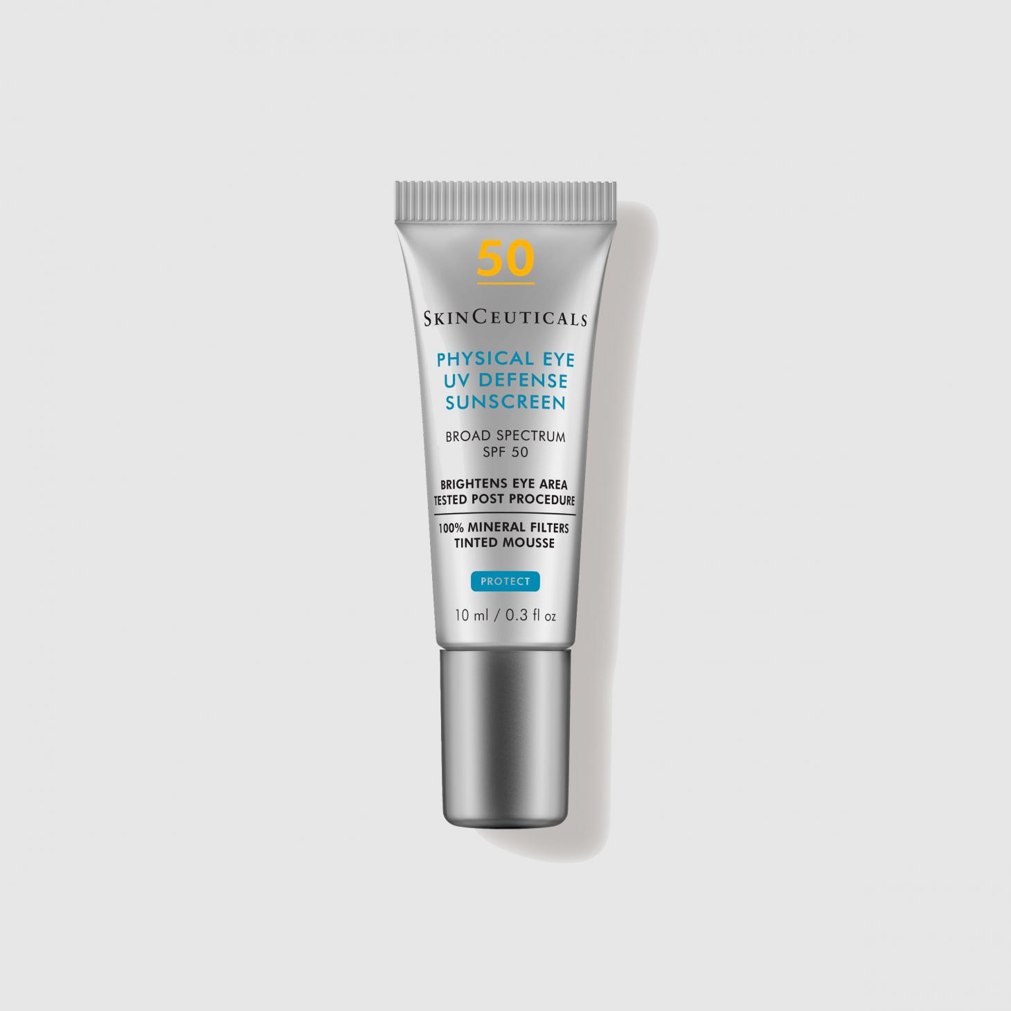 Skinceuticals Mineral Eye SPF in grey squeeze bottle
