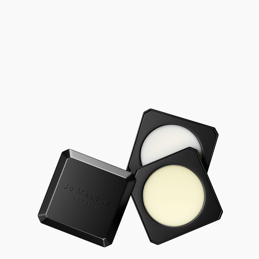Jo Malone solid perfume in black refillable packaging