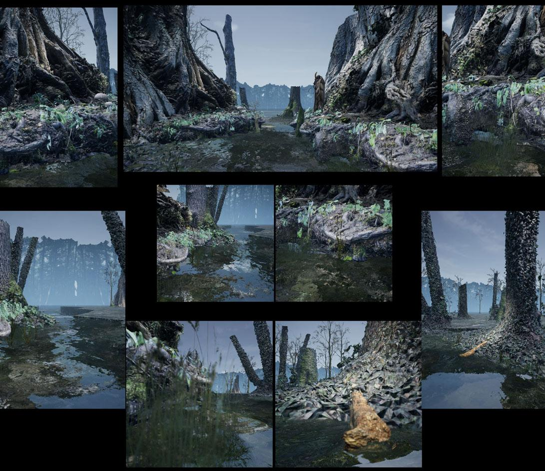 Jakob Kudsk Steensen Rendered in meticulous detail, Kudsk Steensen's virtual wetland emphasises textures, tactility and a slow sensibility, qualities that have so far been rare in VR art