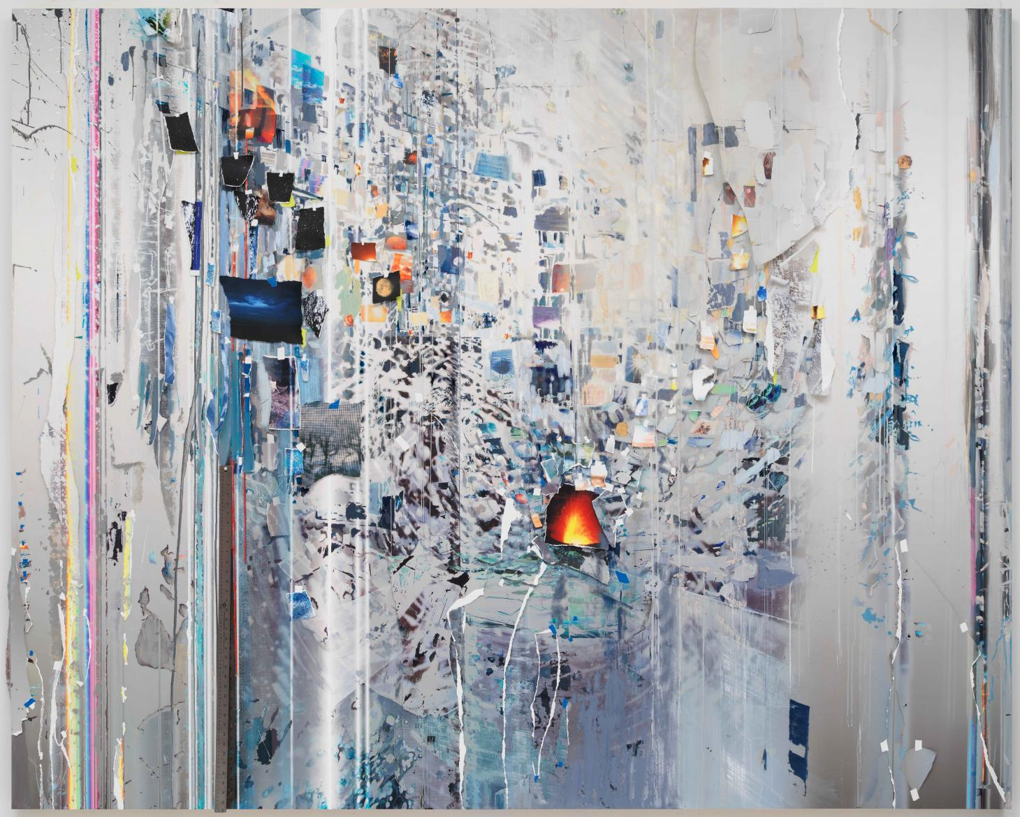 First Time, from the Half-life series, by Sarah Sze