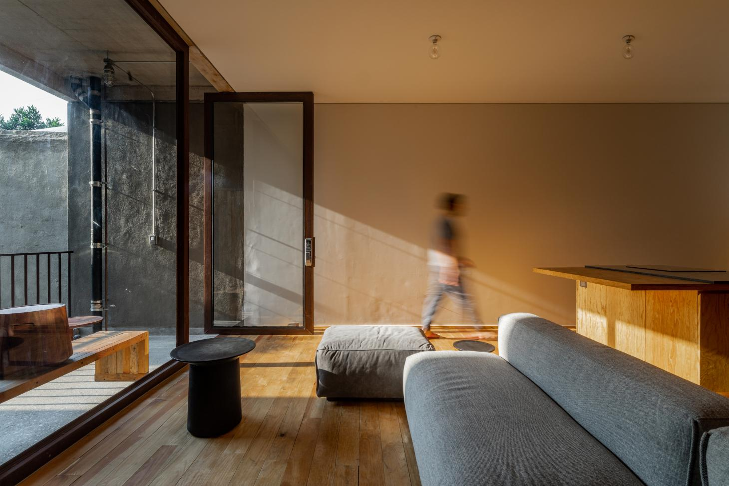 this Mexican apartment was designed in a redeveloped protected building in Mexico City