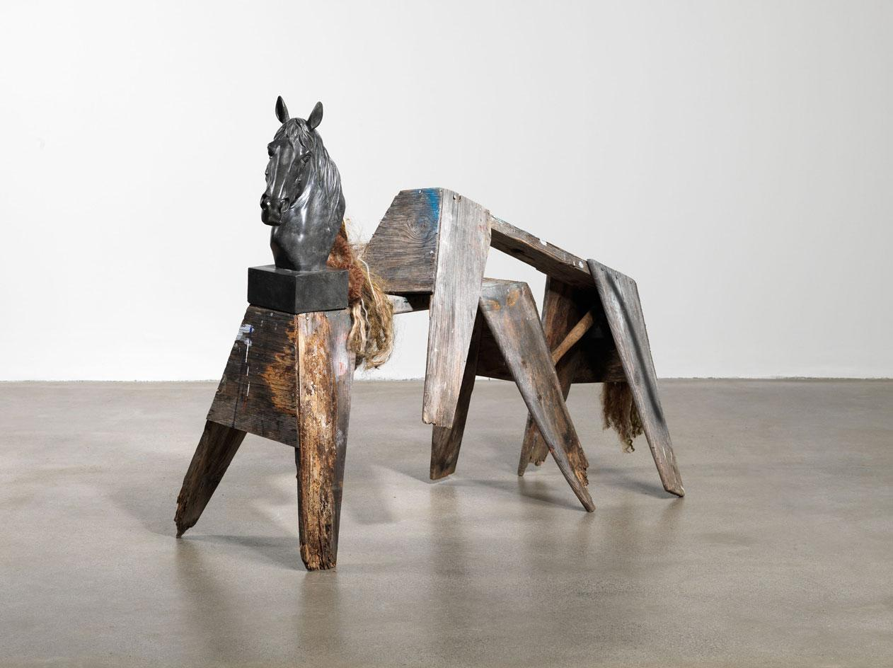 Henry Taylor,Untitled,2021 at Hauser & Wirth Somerset. Exhibitions to see in the UK after lockdown