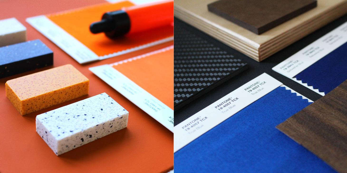 The design team is exploring a variety of new and traditional materials