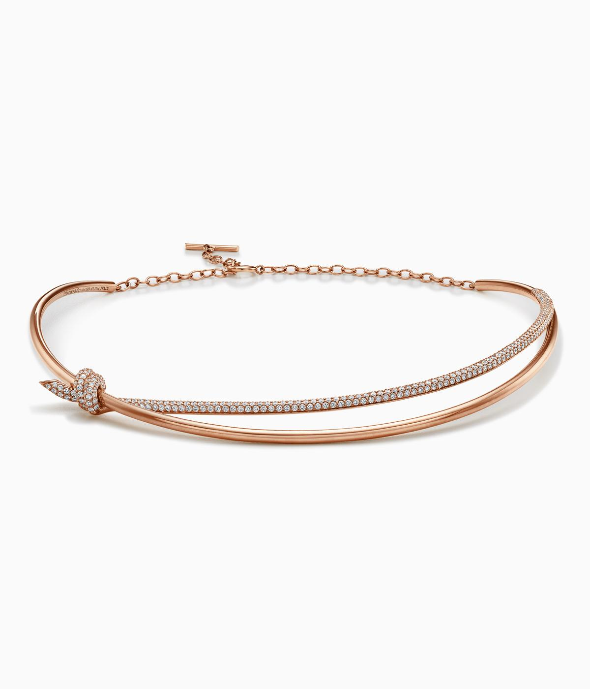 Tiffany gold bracelets and rings