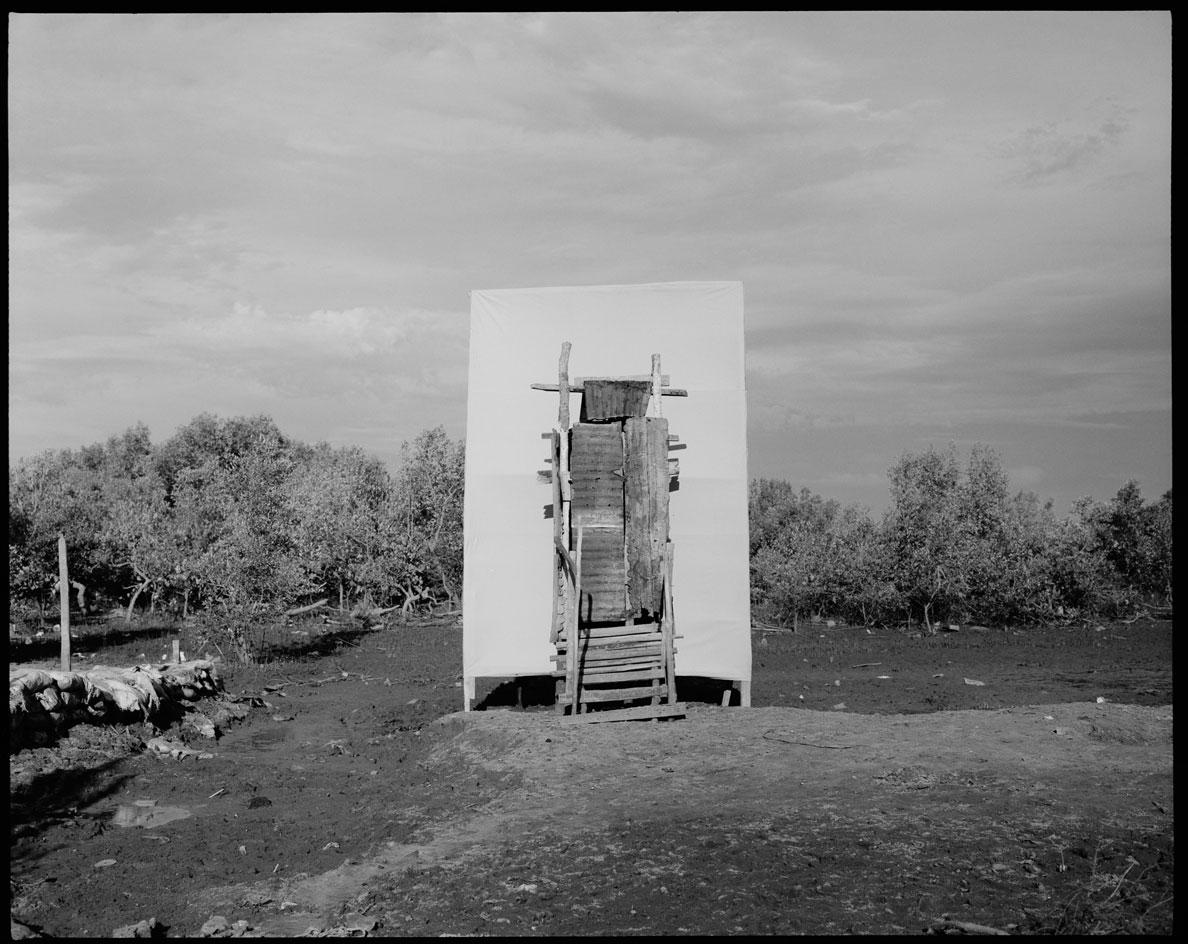 Toilet built by photographerNorbert Kominy, 68 for hisfamily by his home in Morondava, Madagascar by Elena Heatherwick, commissioned by WaterAid