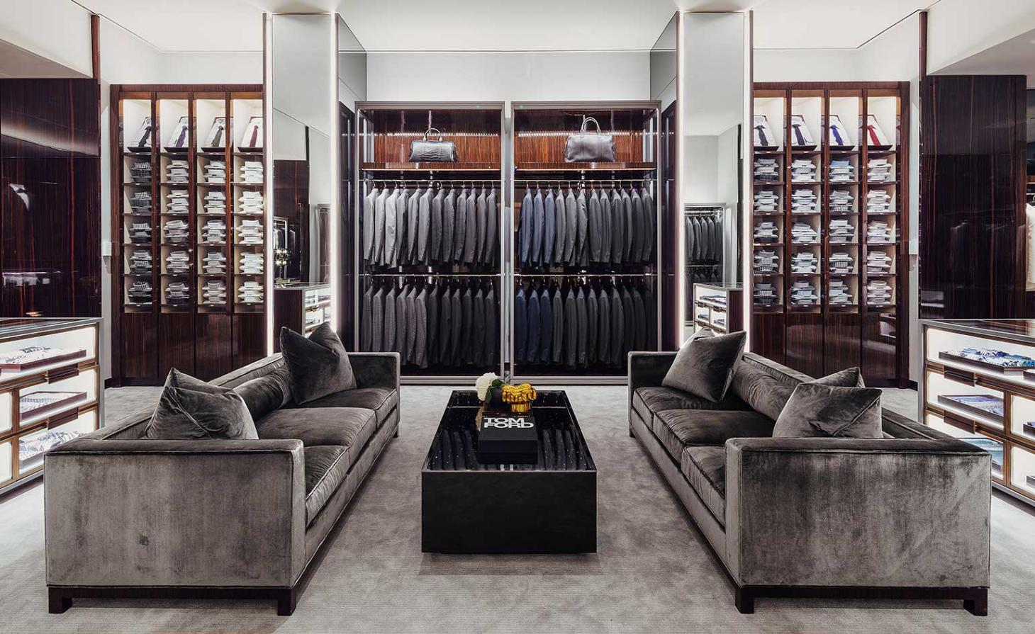 Inside the Tom Ford Miami store