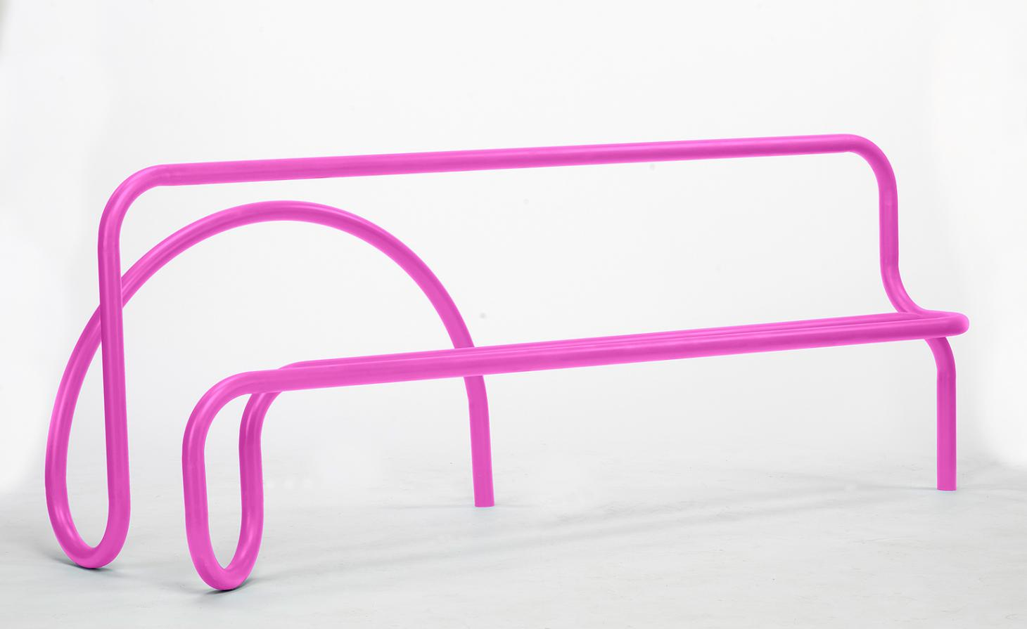 Pipe Line bench by Lou Corio Randall