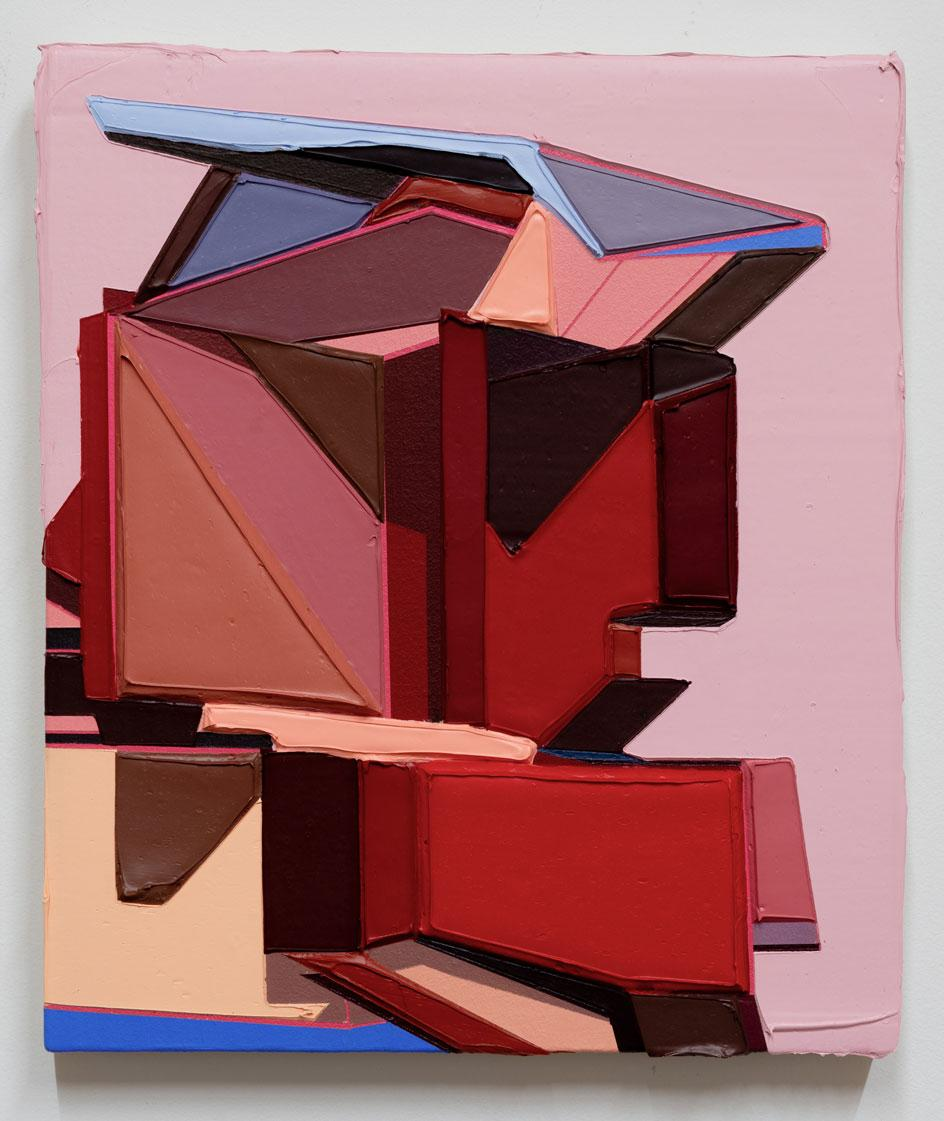 Tommy Fitzpatrick,Victoria, 2021, architecture painting
