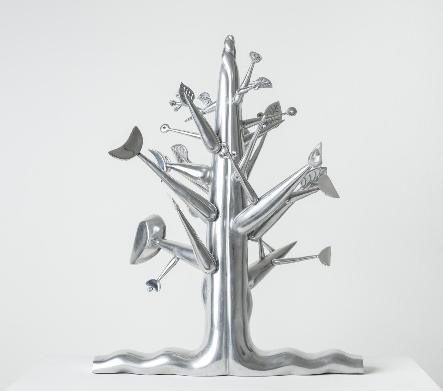 Ibrahim El-Salahi, Meditation Tree, courtesy of Vigo Gallery