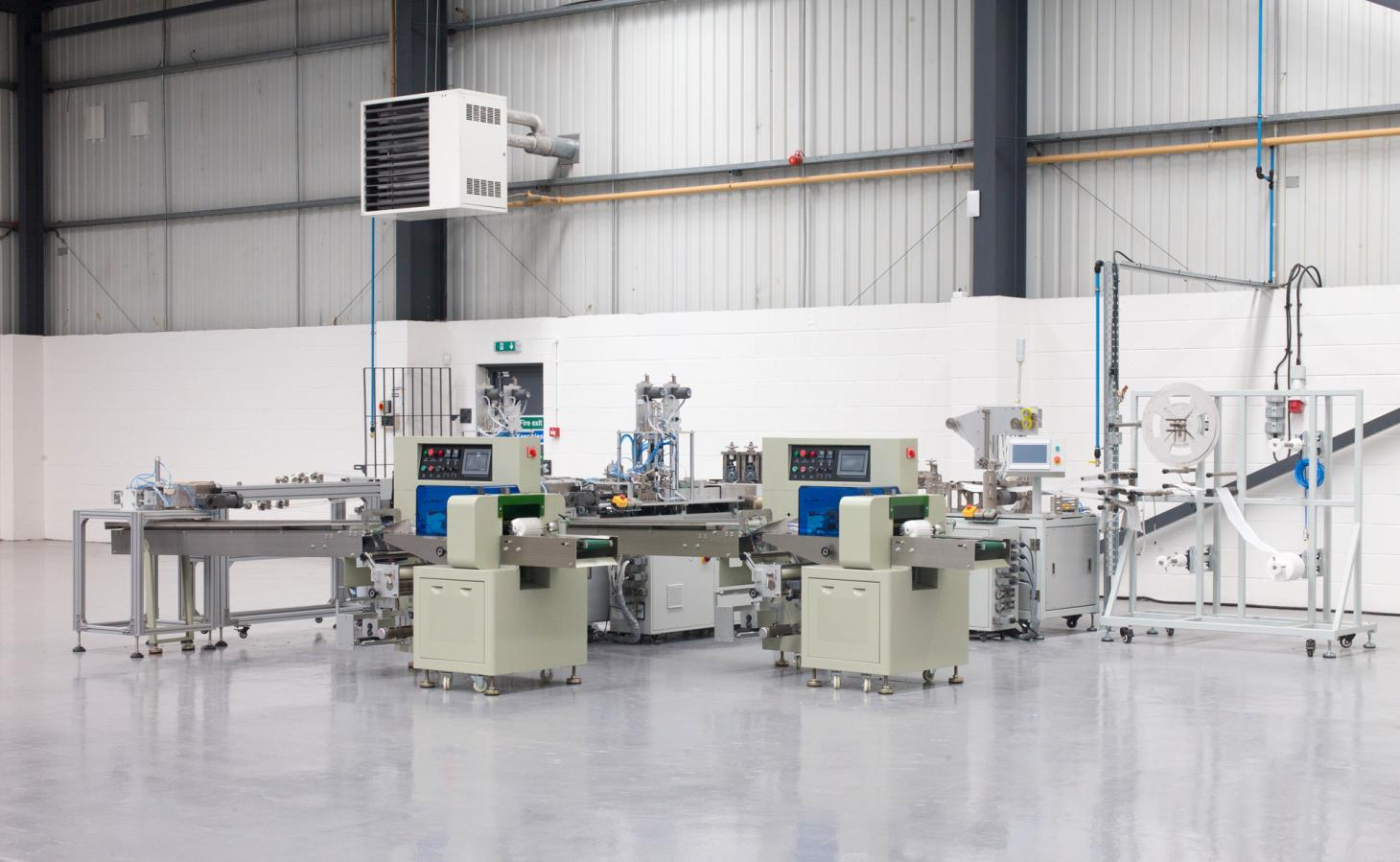 The new state-of-the-art Masuku AirLab in Hellaby, South Yorkshire
