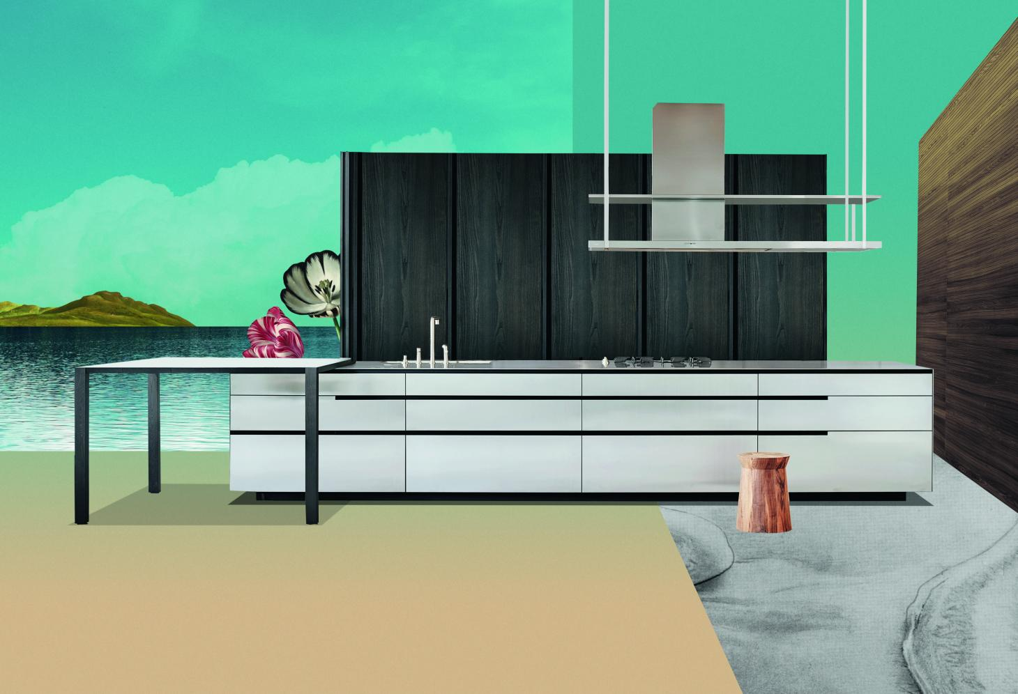 Illustration of The Sanctuary Kitchen, by Poliform