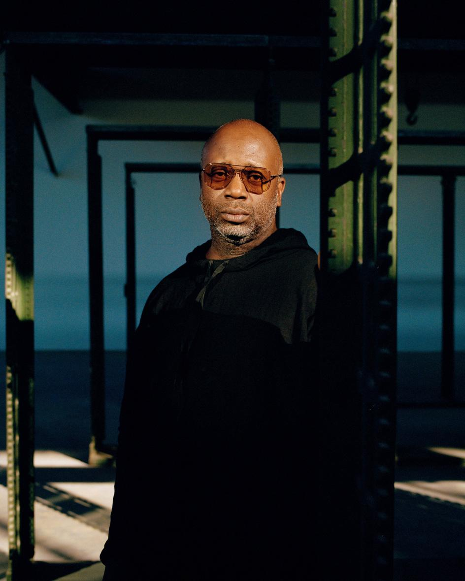 Photographic portrait of Theaster Gates by Caroline Tompkins