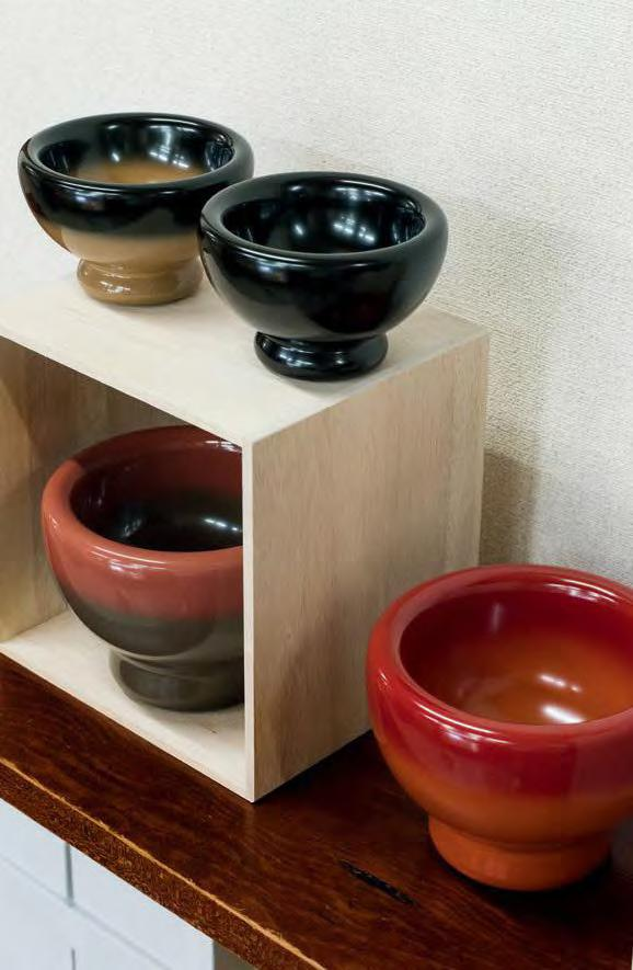 A selection of ceramic bowls