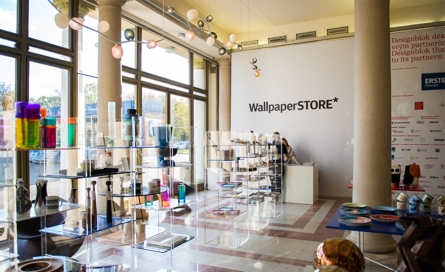WallpaperSTORE pop-up in Prague