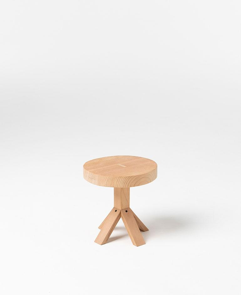 Small side table in wood