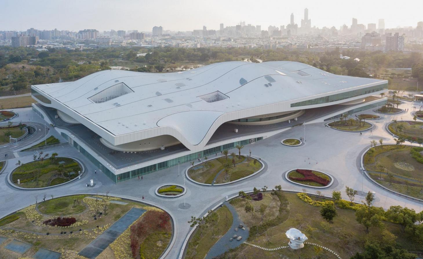 National Kaohsiung Center for the Arts, Taiwan, by Mecanoo