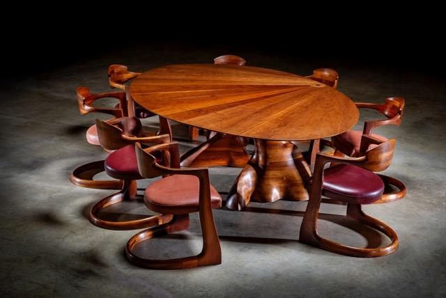 wendell castle table set