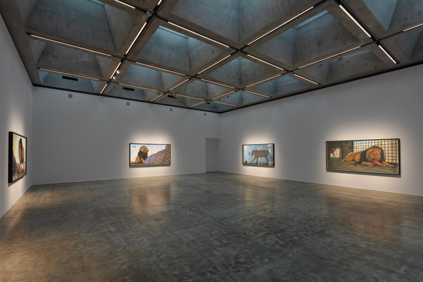 Almost 7m High Walls Also Ensure That The Galleryu0027s Large Scale Works Are  Given The Room That They Need, Which The Opening Exhibition Of Walton Ford  ...