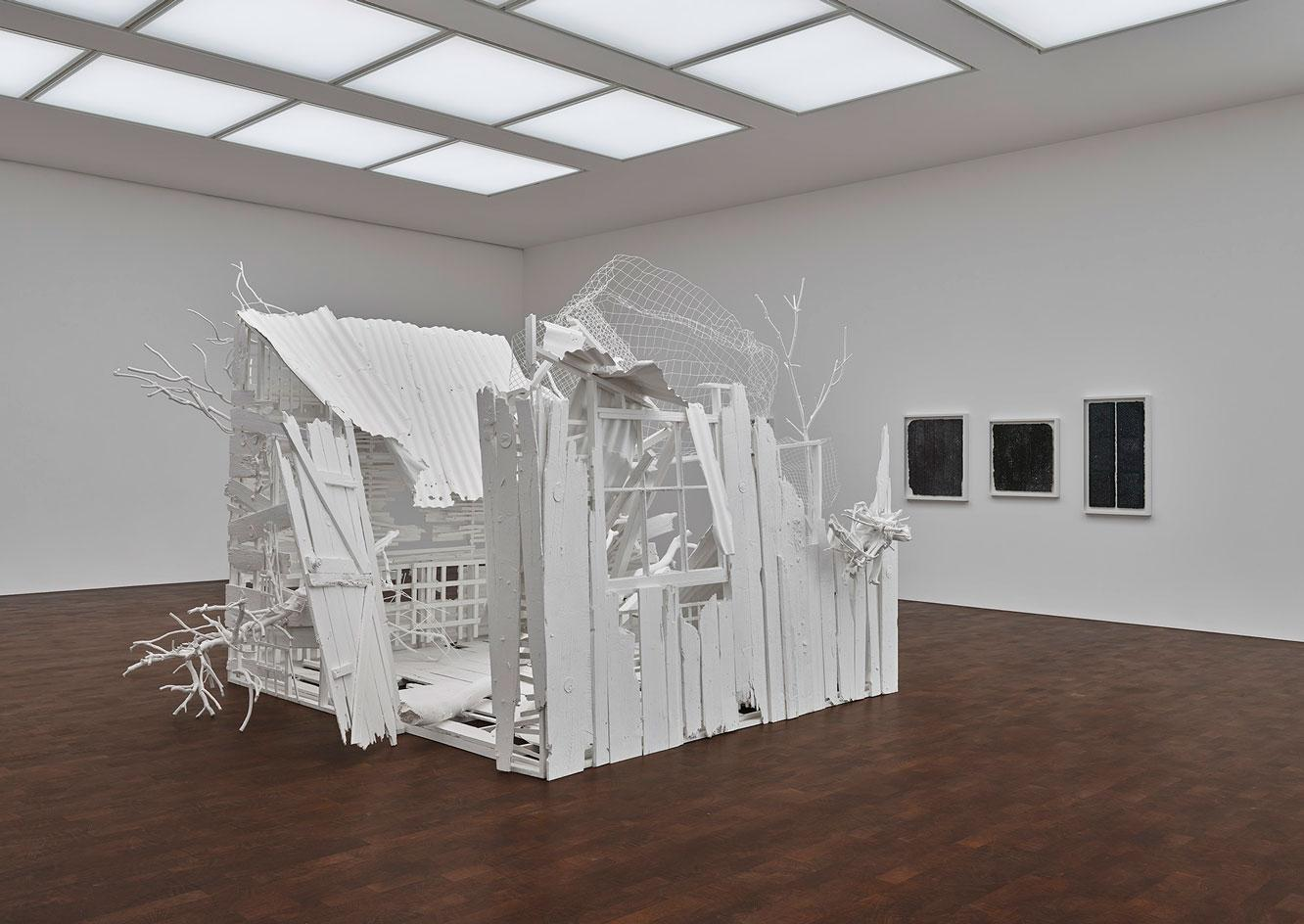'Internal Objects', installation view , 2021 gagosian gallery london art exhibitions