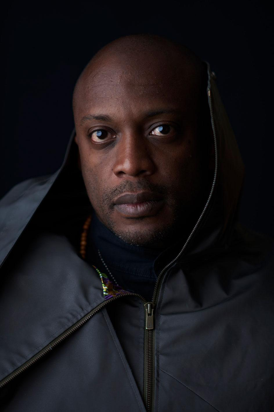 Portrait of Hank Willis Thomas for the Wide Awakes collective - photography by Jeff Vespa