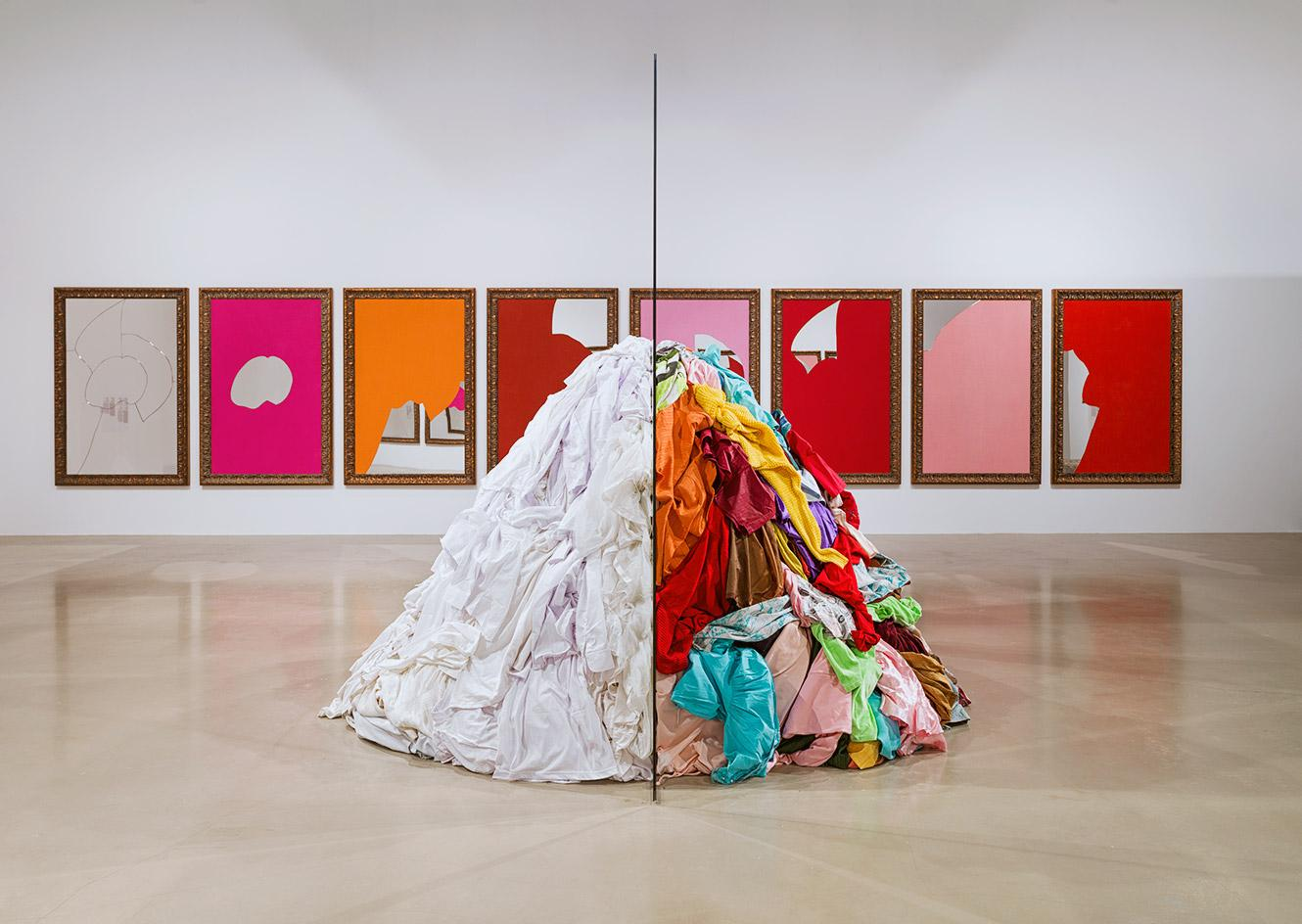 Installation view of 'Do It' by Michelangelo Pistoletto at Yarat Contemporary Art Centre, Baku