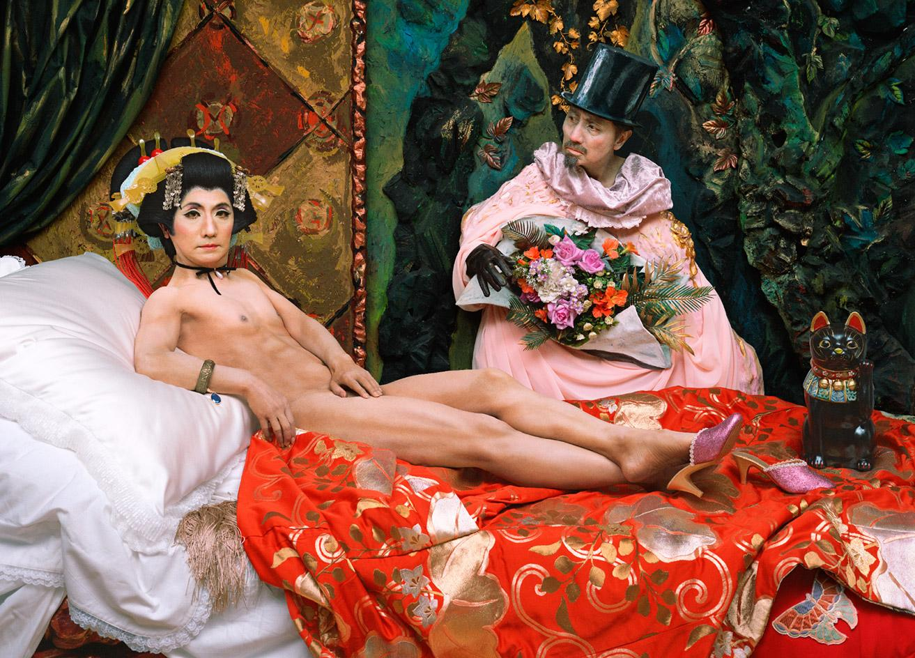 Japanese artist Yasumasa Morimura faces off with Old Masters in New York