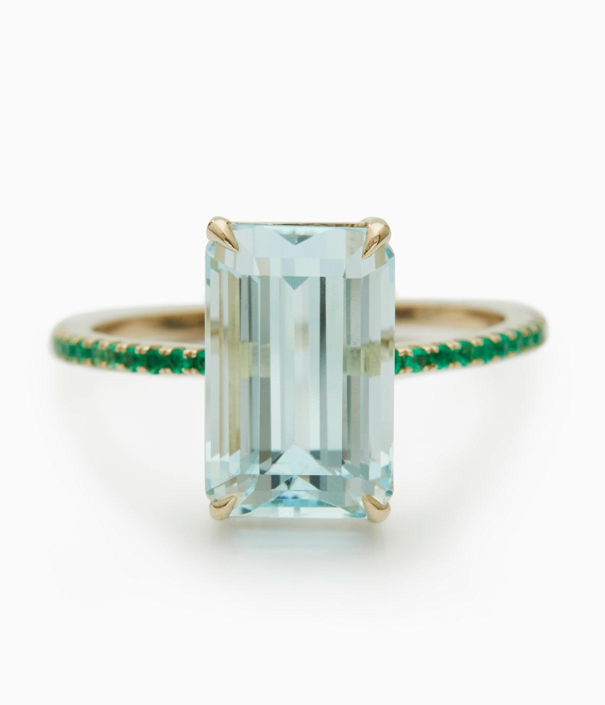 Yi Collection's rainbow-hued engagement rings