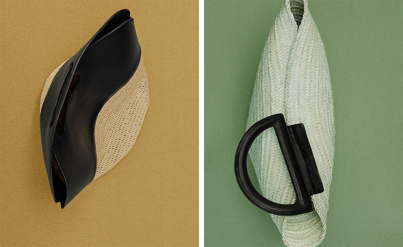 The wicker bags weaving style magic for summer