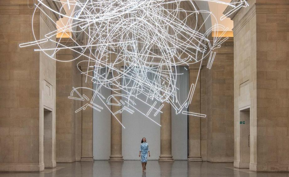 Amazing Glow getter Cerith Wyn Evans u Tate Britain installation is a neon knock out