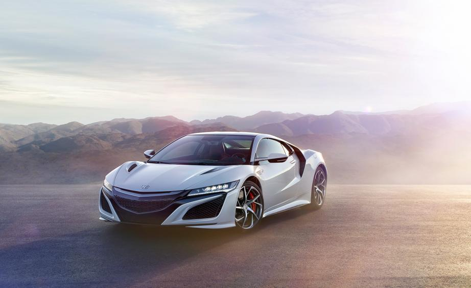 Honda Introduces The Long Awaited Nsx Which Aims To Take The Marque Into The World Of High End Sports Cars And Come Out On Top