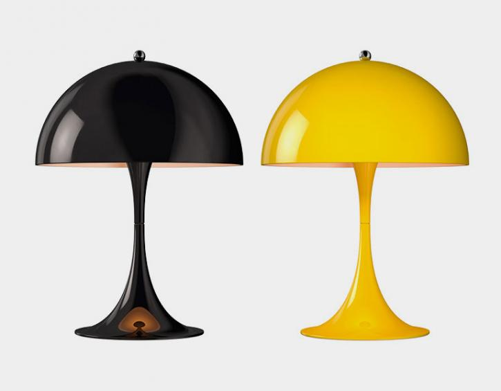 Products lighting the w house interiors wallpaper panthella mini table lamp mozeypictures Gallery