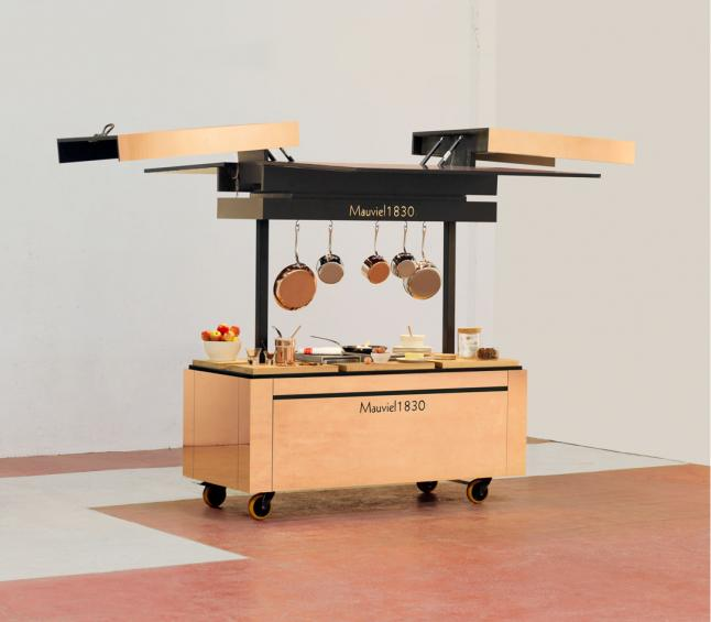 Mauviel release a new mobile kitchen with hidden depths Wallpaper