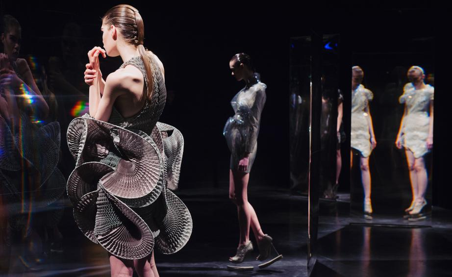 ... Van Herpen looked to lucid dreams for her eerie, intense and spectacularly conceived winter presentation. Rather than dull with another fashion runway, ...