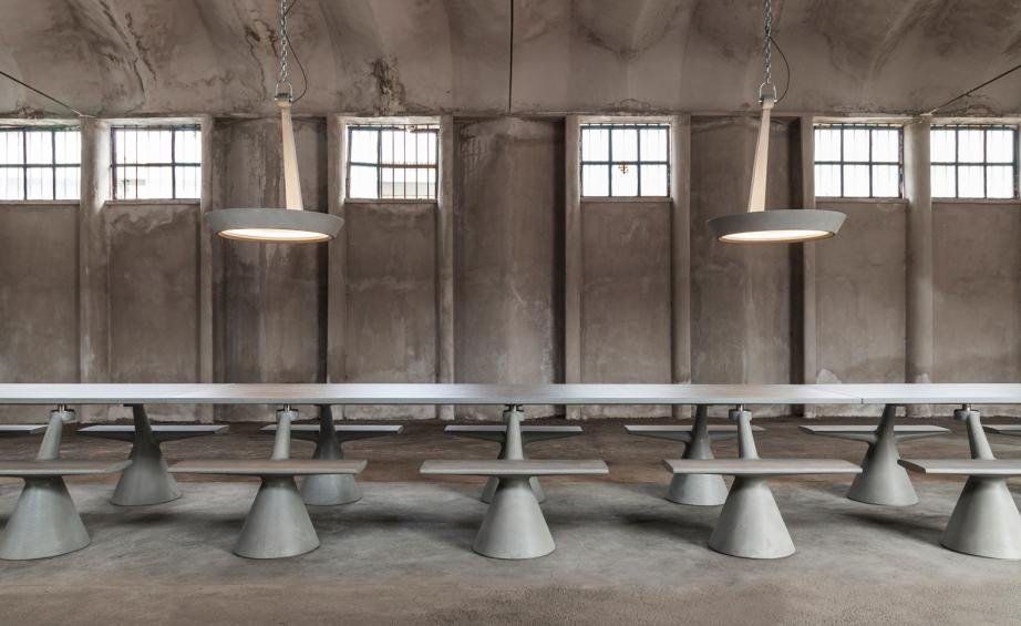 Konstantin Grcic Has Launched A Limited Edition Collection Of Furniture In  A Site Specific Installation In Rome. Photography: Omar Golli