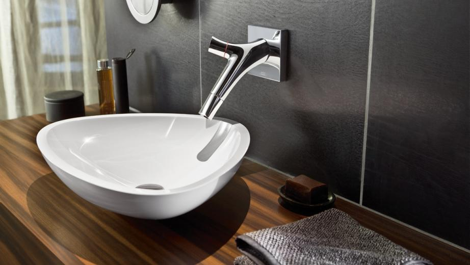 Philippe Starcku0027s Elegant, Ergonomic Tap Design For Axor