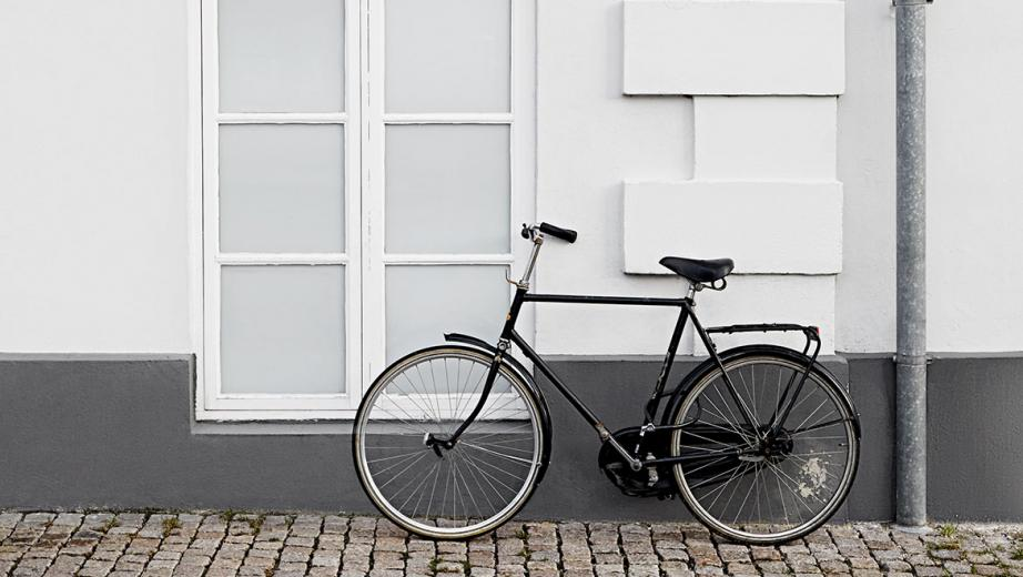 W Bespoke Wallpaper Skagen Danish bicycle culture Wallpaper