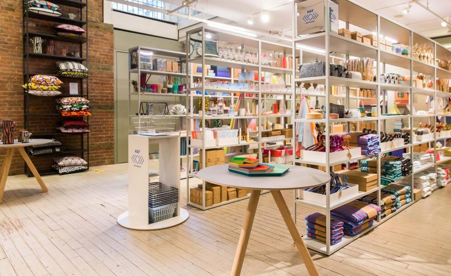 Off to market: Hay arrives at Soho\'s MoMA Design Store, New York ...