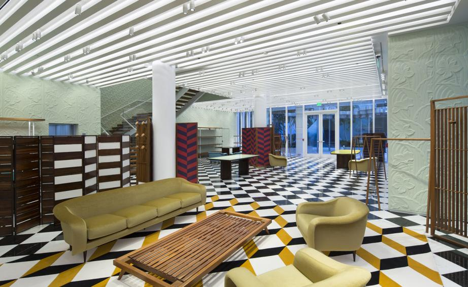prada has opened a new 650 sq m concept store in the miami design district photography robin hill - Furniture Stores In Miami Design District