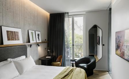 hotel national des arts et m tiers hotel review paris france wallpaper. Black Bedroom Furniture Sets. Home Design Ideas