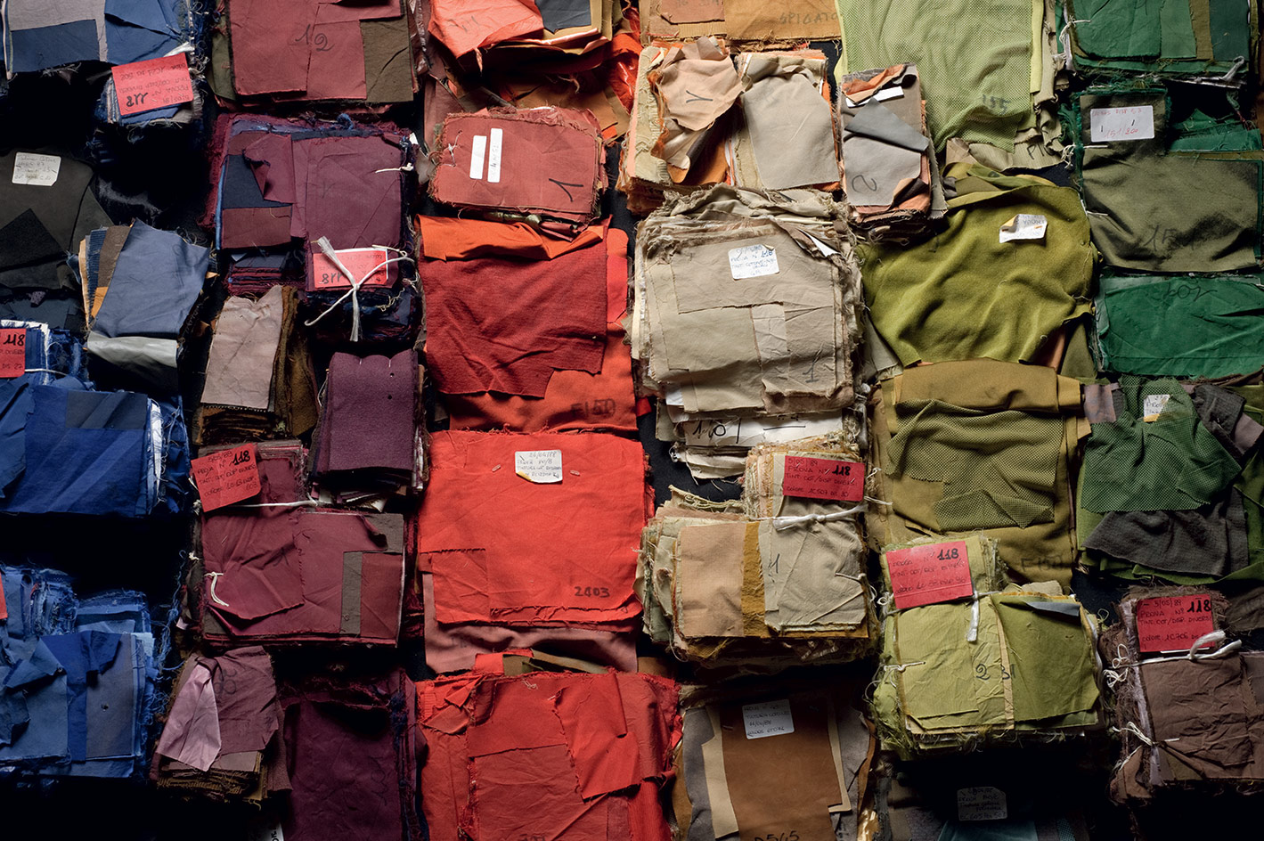 CP Company colour swatches