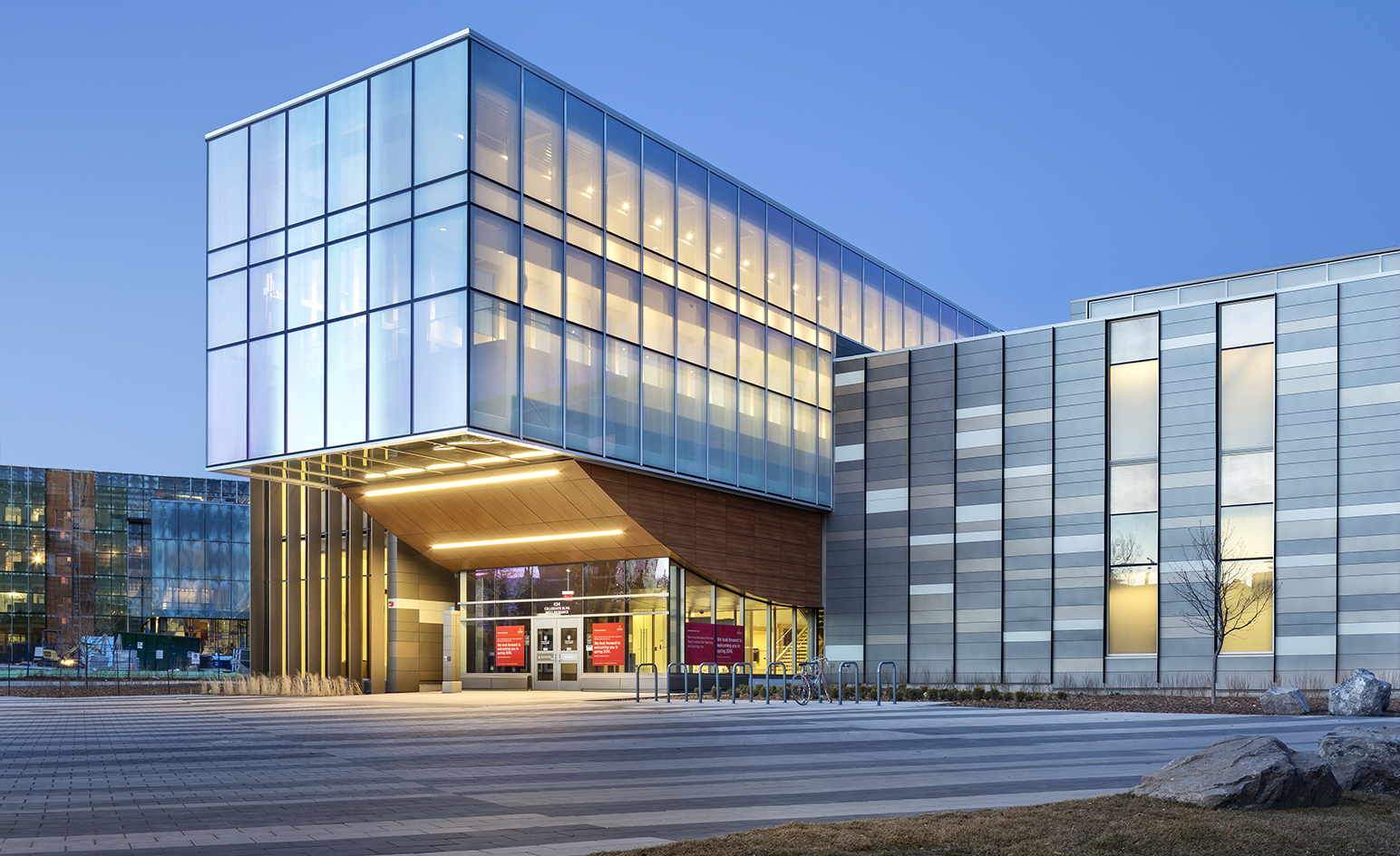 gallery architecture higher education campuses with elevated aesthetics