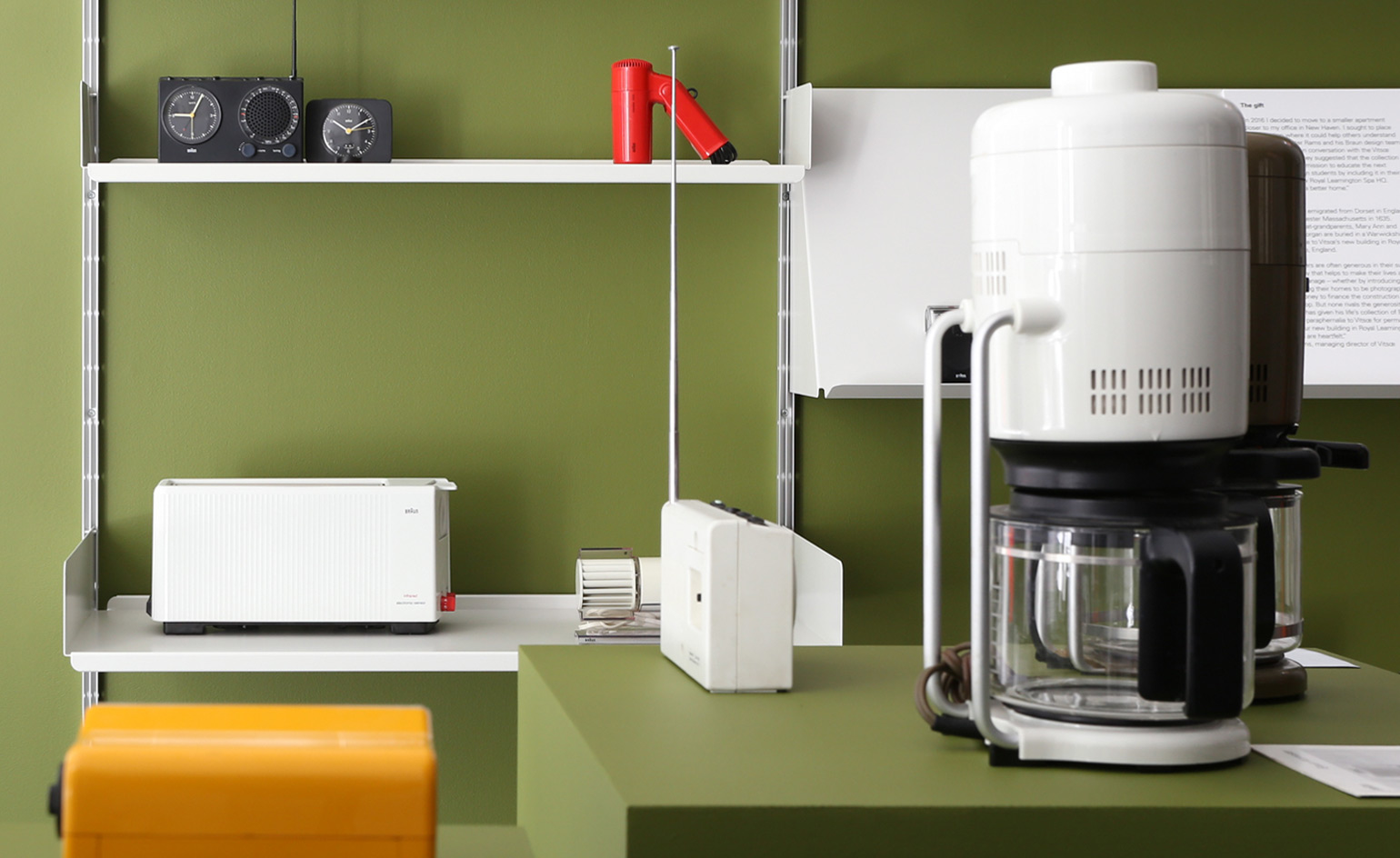 vits acquires private collection of dieter rams designs. Black Bedroom Furniture Sets. Home Design Ideas