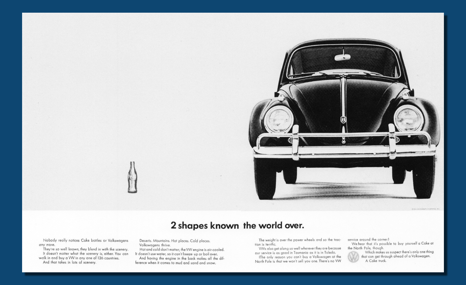 an analysis of the advertising campaign of the new volkswagen beetle Volkswagen publicity campaign - advertising in the volkswagen kept that idea in mind to build new beetle when volkswagen sports broadcast analysis.