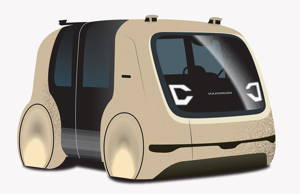 Image result for vw self driving sedric