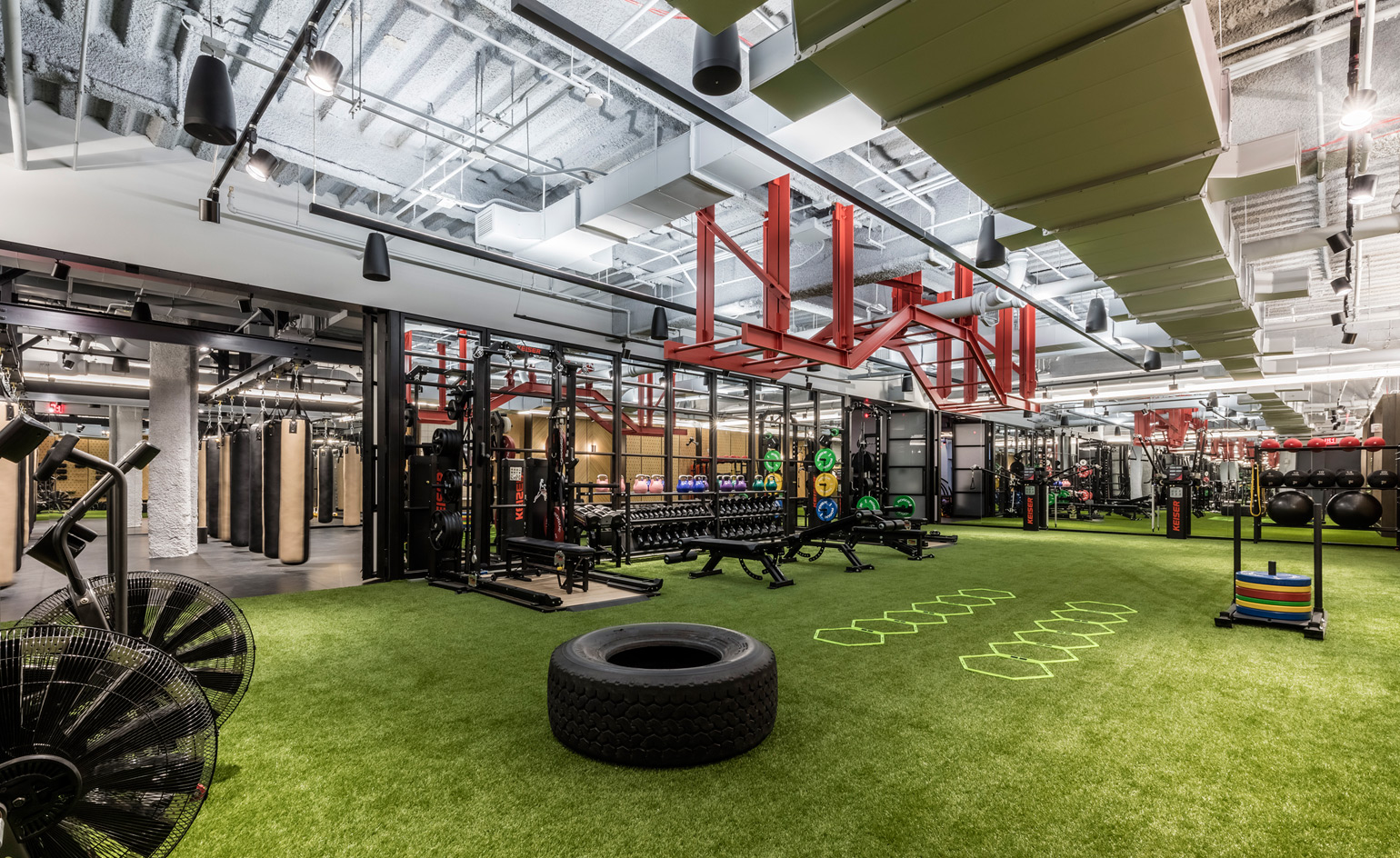 Wework gets physical with its first gym and wellness club - Interior design jobs washington state ...
