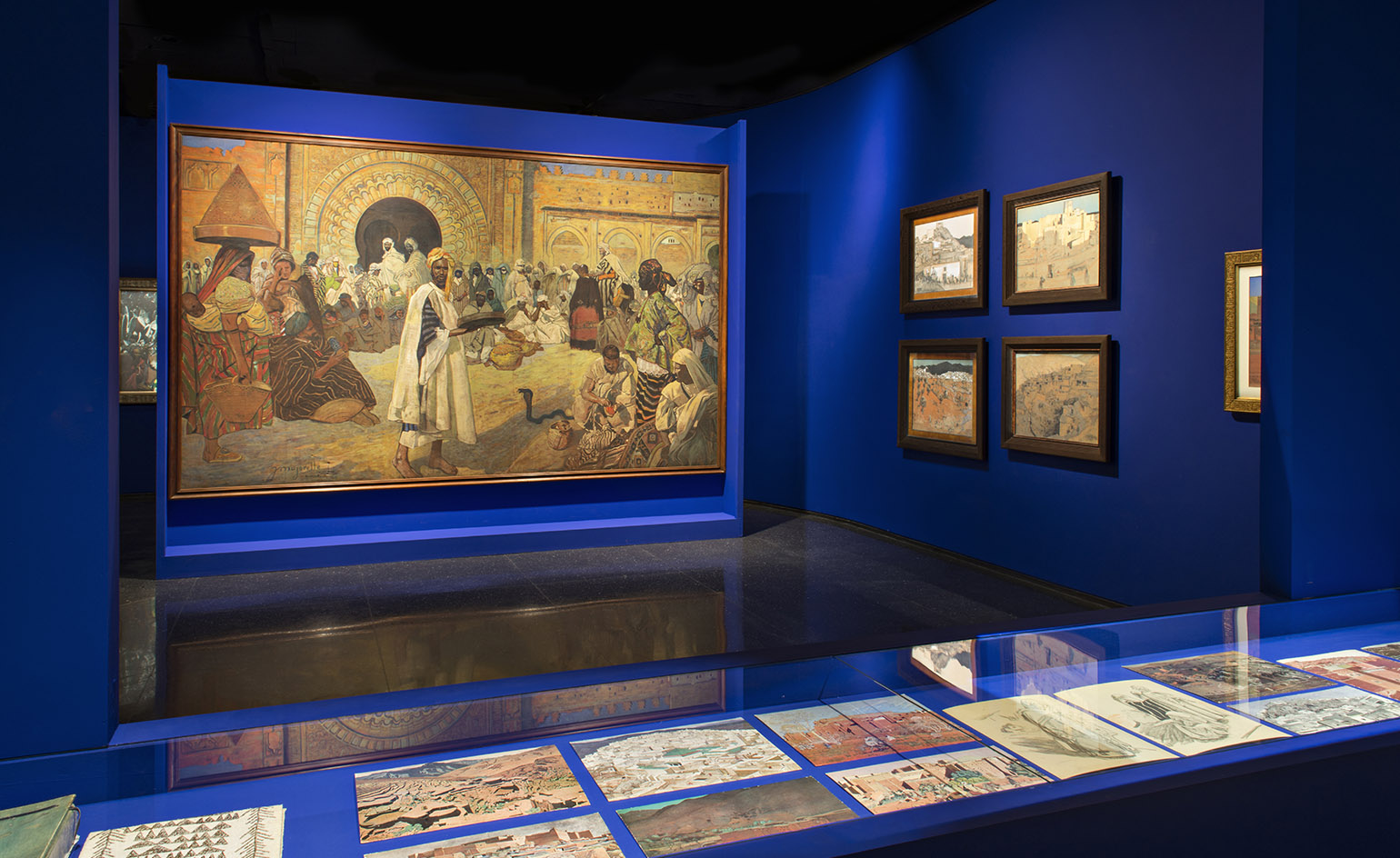 bfc72c59e90 In the temporary exhibition space an inaugural show titled 'Jacques  Majorelle's Morocco' curated by Félix Marcilhac will offer the Moroccan  public the ...